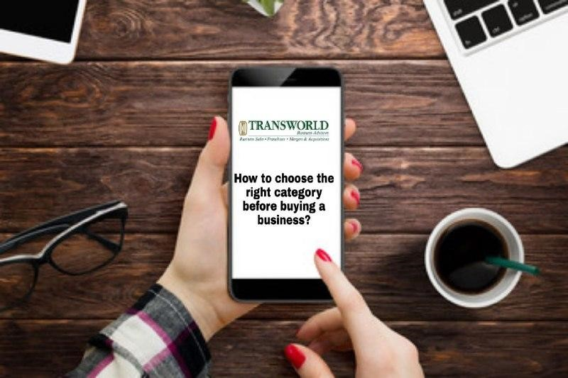 How to choose the right category before buying a business?