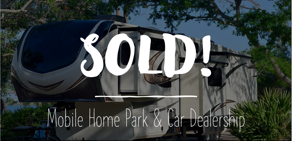 VP, Bob Latham Assists Owner in the Sale of a Rare Mobile Home Park