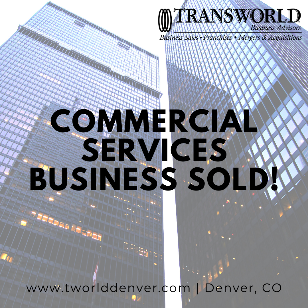 Denver Business Broker Sells a Commercial Services Business in Colorado