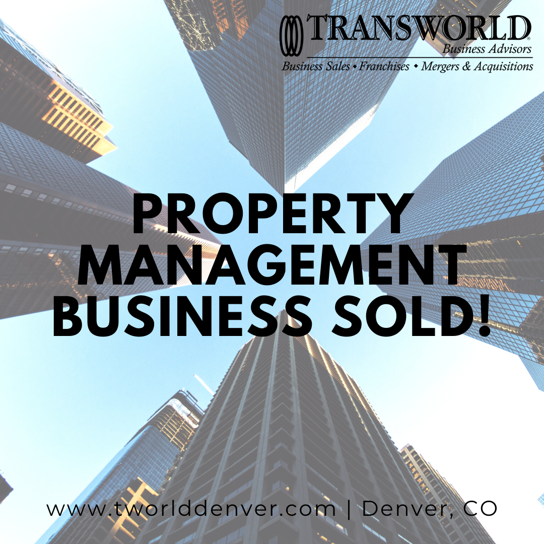Denver Business Broker Helps Sell a Property Management Business to a New Business Owner
