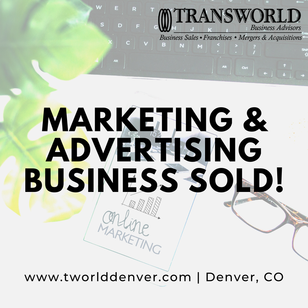 Business Broker, Roger Smolik, Sells a Marketing and Advertising Firm in Colorado