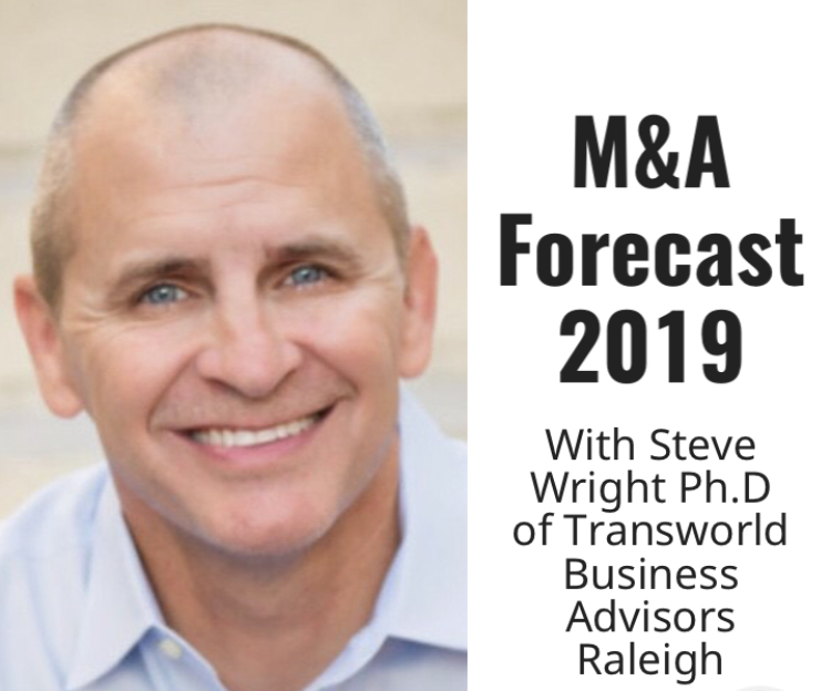 Image for M&A Forecasts 2019 by Steve Wright Ph.D