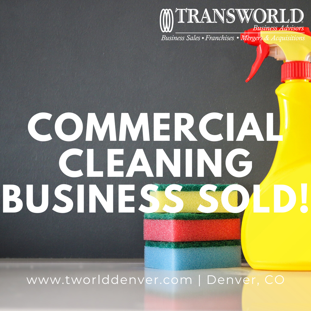 Ross Haymes, a Denver Business Broker, Sells a Commercial Cleaning Business to a Business Buyer