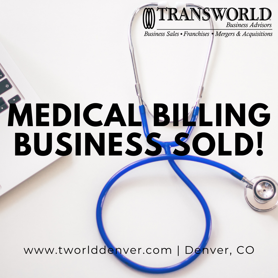 Medical Business Sold in Colorado by Mike Krieger, Business Broker