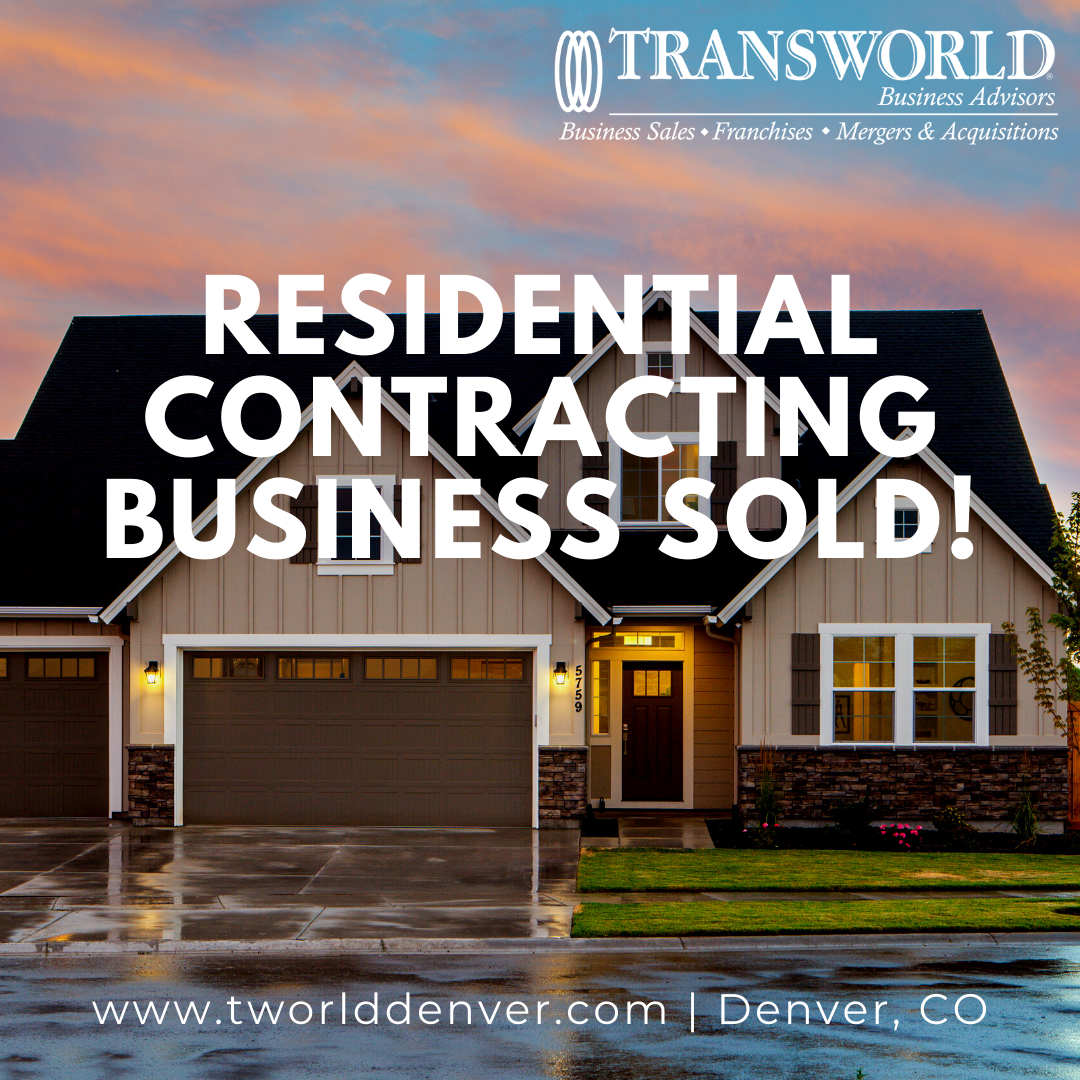 Denver Business Broker, Al Fialkovich Helps Sell a Contracting Business in Colorado